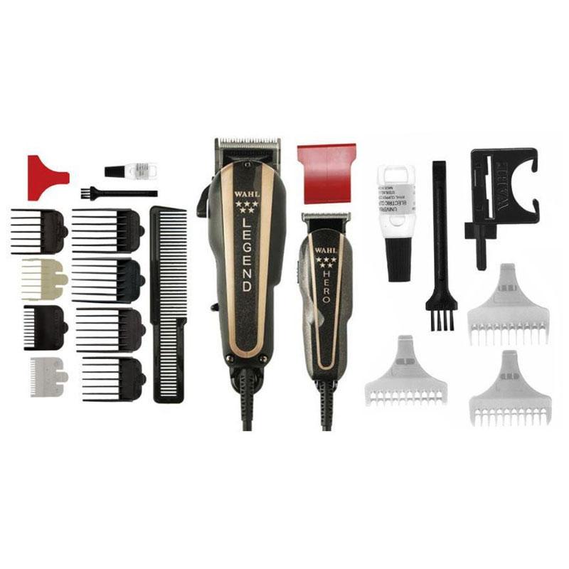 ... Wahl Professional. The Barber Combo ofrece dos excelentes productos  para el cuidado del cabello en un paquete conveniente. La leyenda es una  cortadora ... f9ca8d452d24
